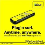 Idea 3G Netsetter Plans / Packs August 2012