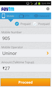 App Review: Paytm Mobile Recharge (Android)