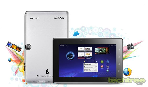 Byond To Inroduce 7-Inch 3G Mi-Book Tablet @ Rs 6,100