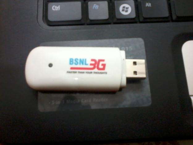 BSNL Gives 20% special discount on sale price of 7.2 Mbps 3G USB Type HSDPA data card
