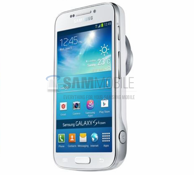 Samsung Galaxy S4 Zoom leaked before June 20 launch
