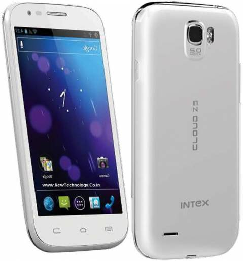 Intex Introduces Cloud Z5 Smartphone At Rs 6,899