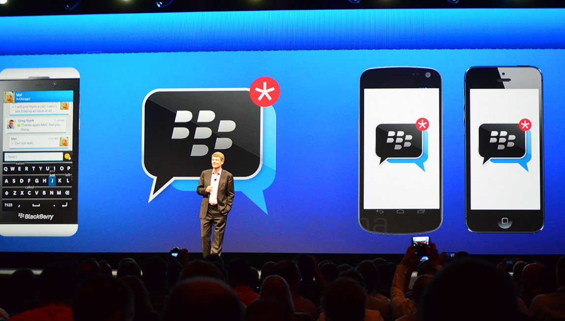 BBM for Android, iPhone – BlackBerry Messenger on iOS will be Soon Available
