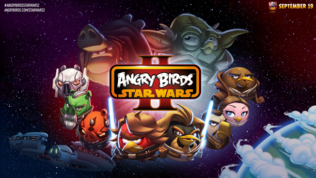 Angry Birds Star Wars II to arrive on September 19 !!