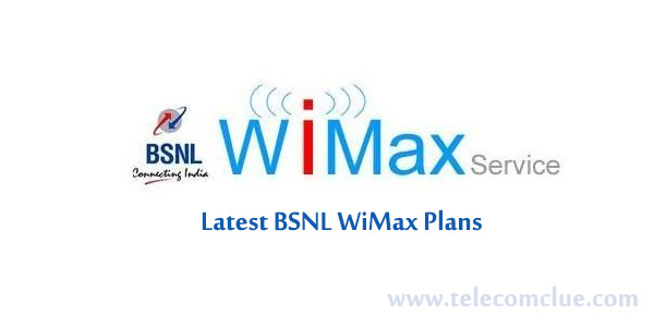 BSNL WiMax Plans Limited / Unlimited for Home / Business