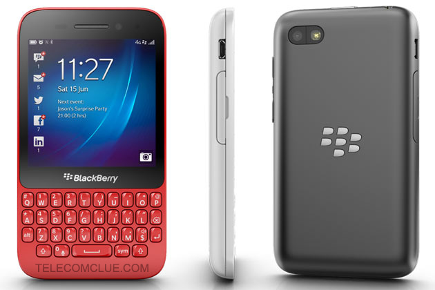 BlackBerry Q5, Buy On EMI Scheme Now!
