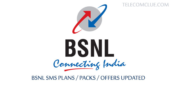 BSNL New SMS Offers / Packs / Plans