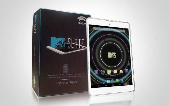 India's First Quadcore 3G Calling Tablet MTV Slate @ Rs 14,999