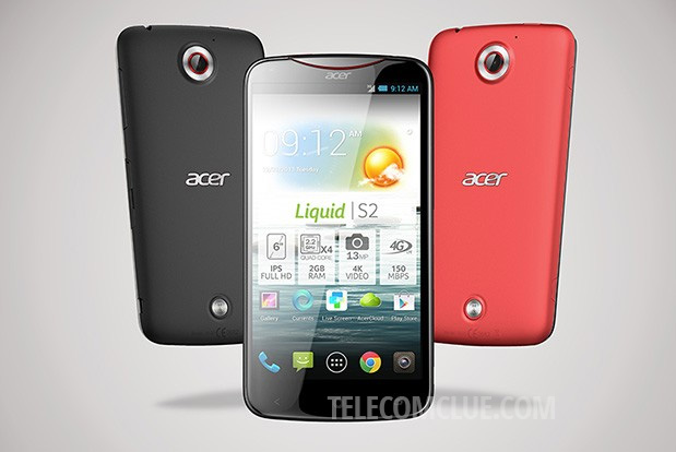 Acer Liquid S2 – The First Smartphone With 4K Video Recording!