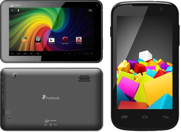 Micromax Funbook P255 available for Rs. 4,499