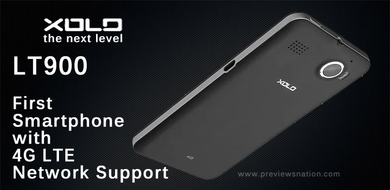 4G Enabled Xolo LT900 Available For Rs 16,999