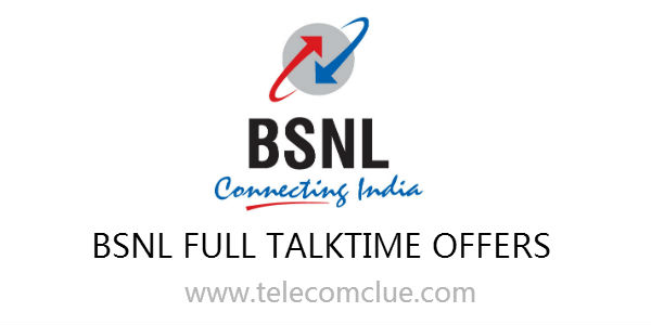BSNL Karnataka Full Talk value offers under GSM services