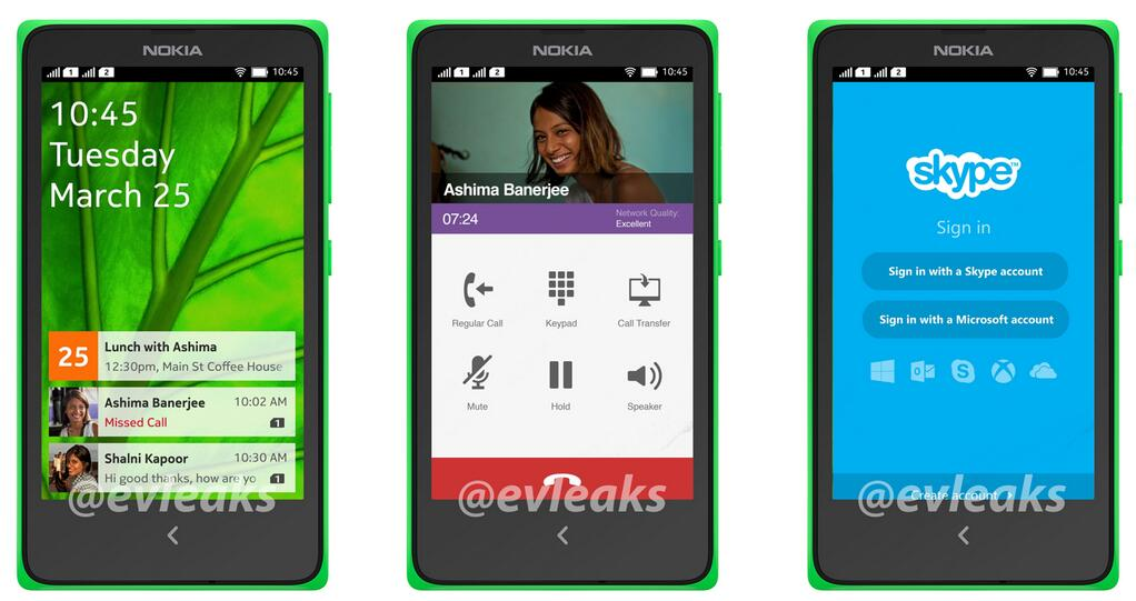 Nokia's Normandy Android Smartphone Leaked With Custom Android Interface