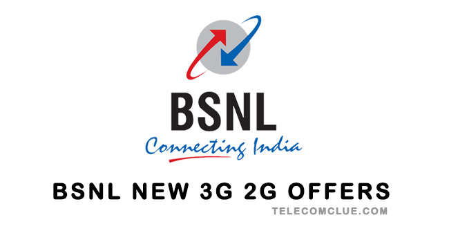 BSNL 2G 3G GPRS Internet Offers/Packs Updated