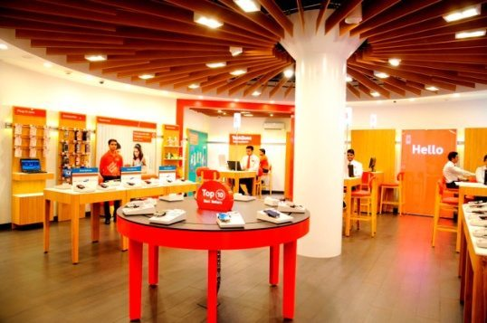 Vodafone Launches Their Global Design Store in Kerala