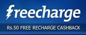 Freecharge Rs.50 Cashback offer