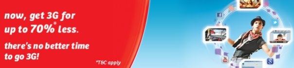 Airtel 3G Offers July 2012