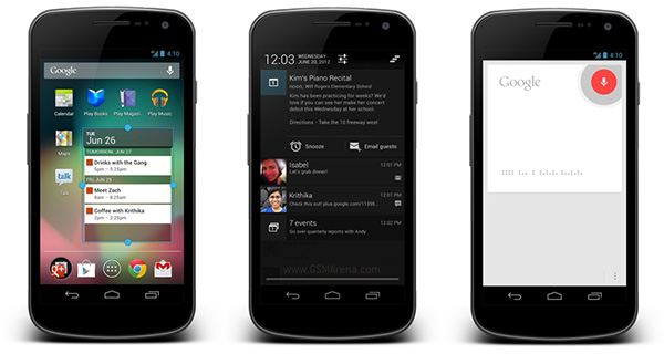 Android 4.1 Jelly Bean rolling out to GSM Galaxy Nexus