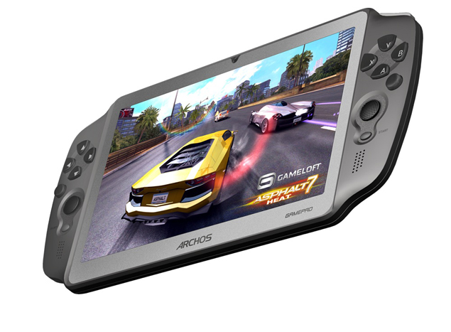 Archos Unveils GamePad Tablet With Dual Analog Sticks
