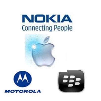 Nokia, Motorola, BlackBerry Prepping New Apple iPhone Rivals