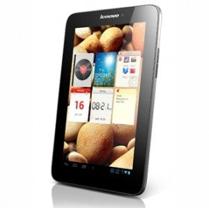 Lenovo Intros Three New Android Tablets At IFA, 2012