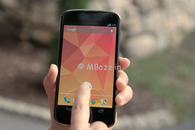Google Nexus 4 Available On eBay Starting Rs 23,490
