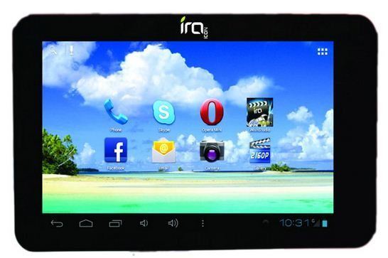 WishTel, BSNL IRA Icon 3G Tablet To Be The New Generation TV
