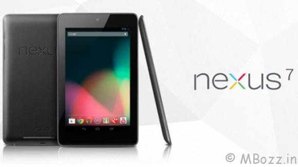 Google Nexus 7 Tablet Launches In India @ Rs 19,990