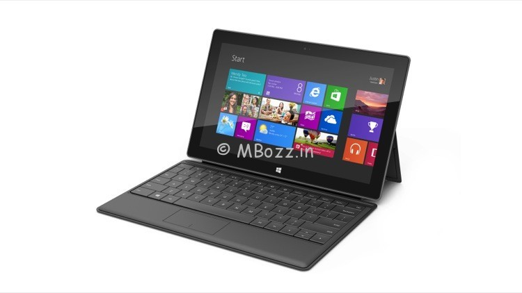 32 GB Windows RT Surface Tablets Have 16 GB Of Usable Space