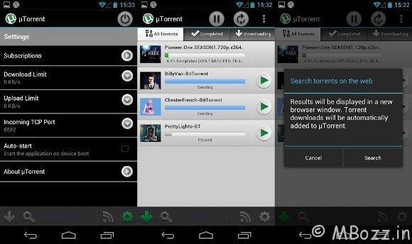 uTorrent For Android Gets Wi-Fi Only Download Option