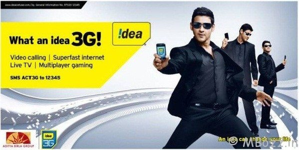 Idea 3g Prepaid Plans/ Offers /Packs Updated December 2012