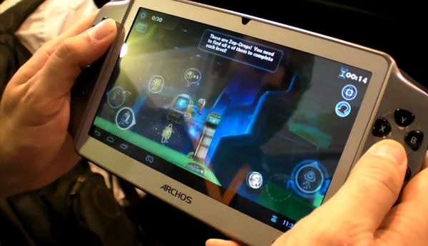 CES 2013: Archos GamePad Comes With Jelly Bean OS
