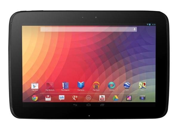 Next Google Nexus 10 Tablet To Sport A Quad-Core Processor
