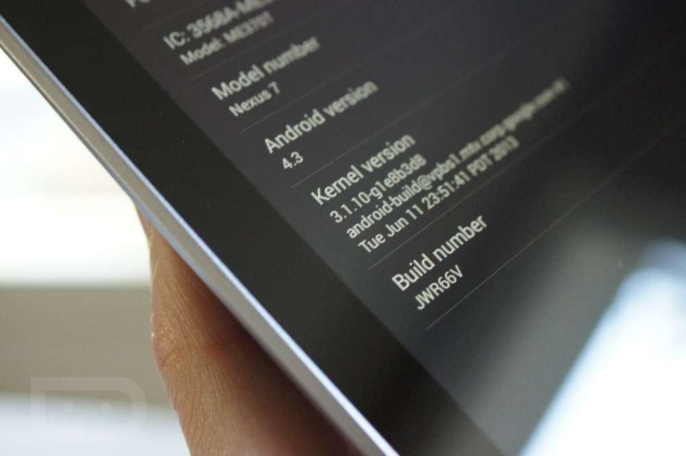 Android 4.3 Nexus 4 and Nexus 7 update delayed