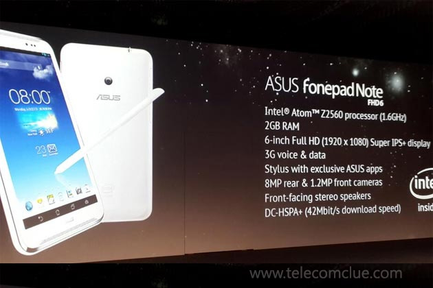 Asus 6-Inch FonePad Note Coming To India Soon Priced Below Rs 40,000