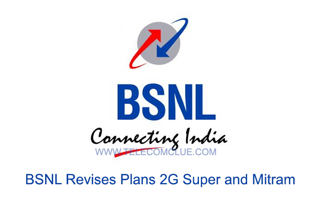 BSNL Revises Plans 2G Super and Mitram