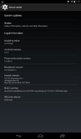 How to Install 4 4 2 Android Kitkat on Samsung Galaxy Tab 2 P31xx