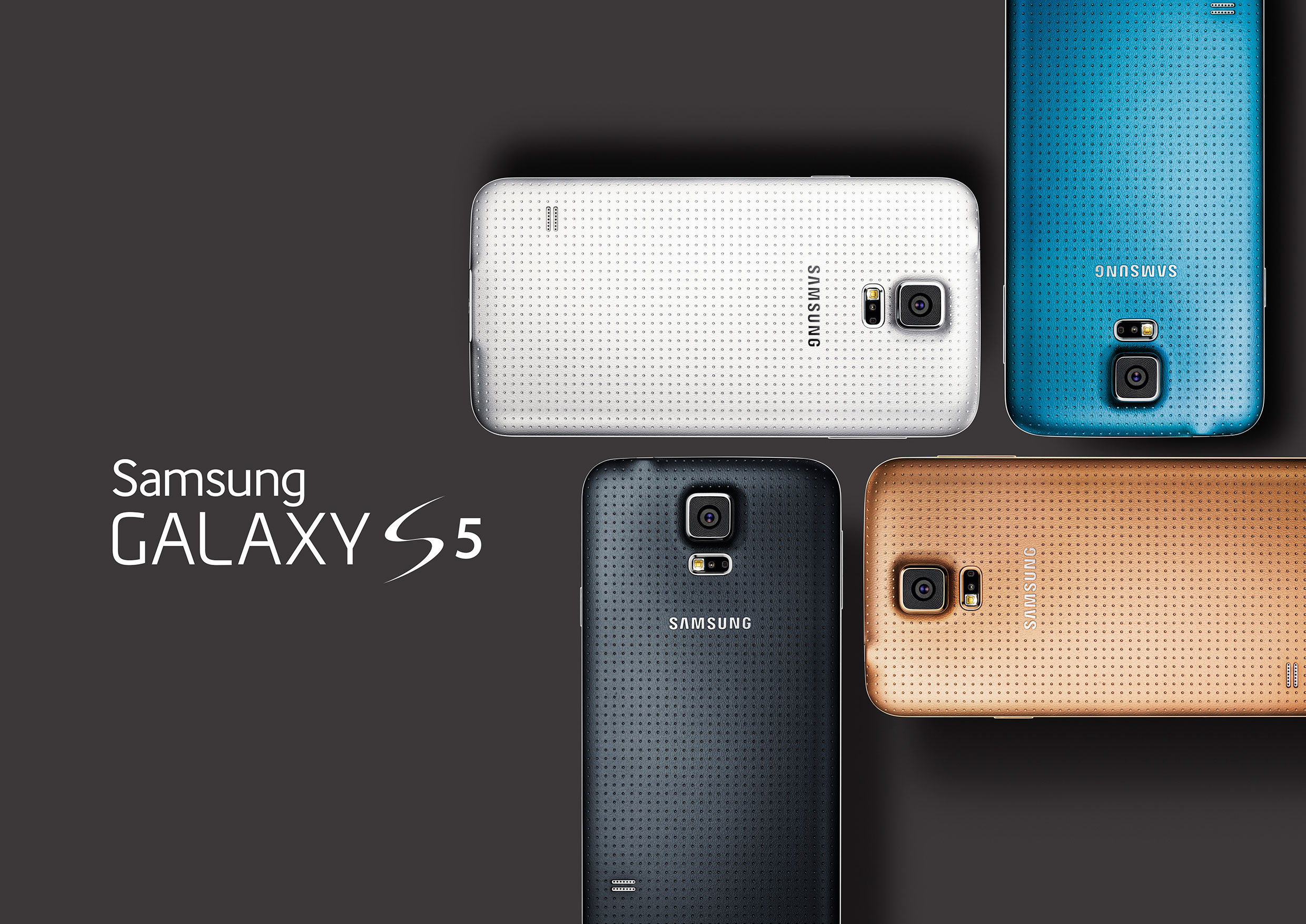Samsung unveils Galaxy S5, to go on sale in April , Specs
