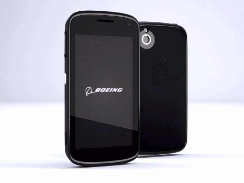 'Boeing Black'  The Self-Destructing Android Phone