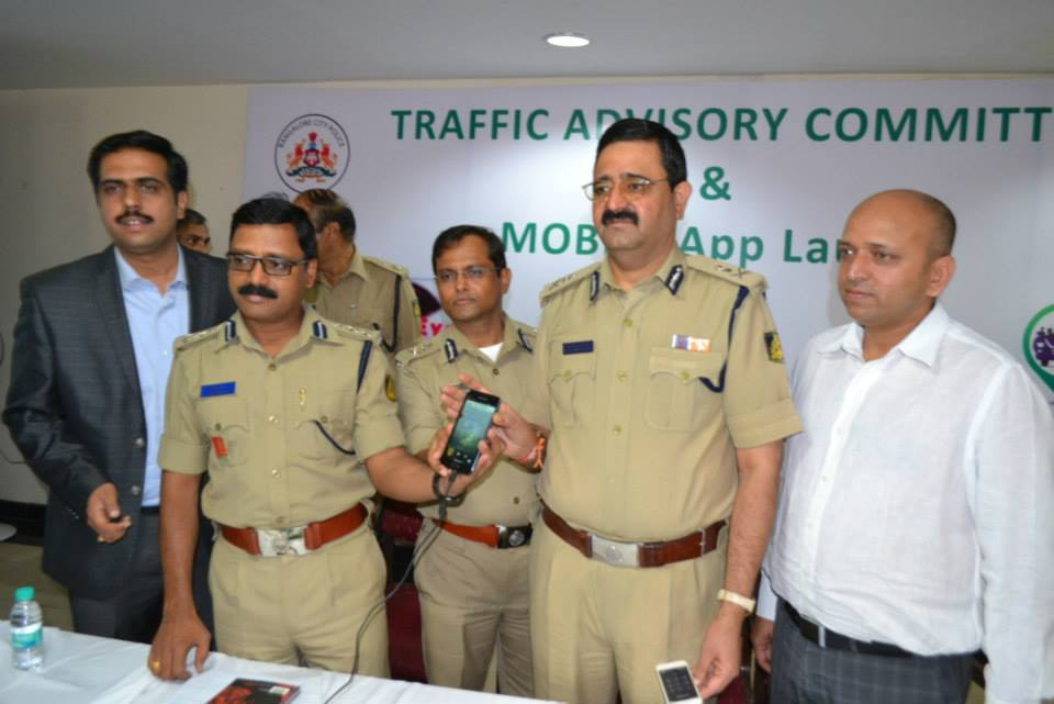 Bangalore Has Mobile Apps To Ensure Safety On Road