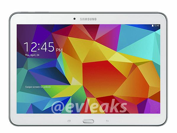 Samsung Galaxy Tab 4 10.1 Image Leaked