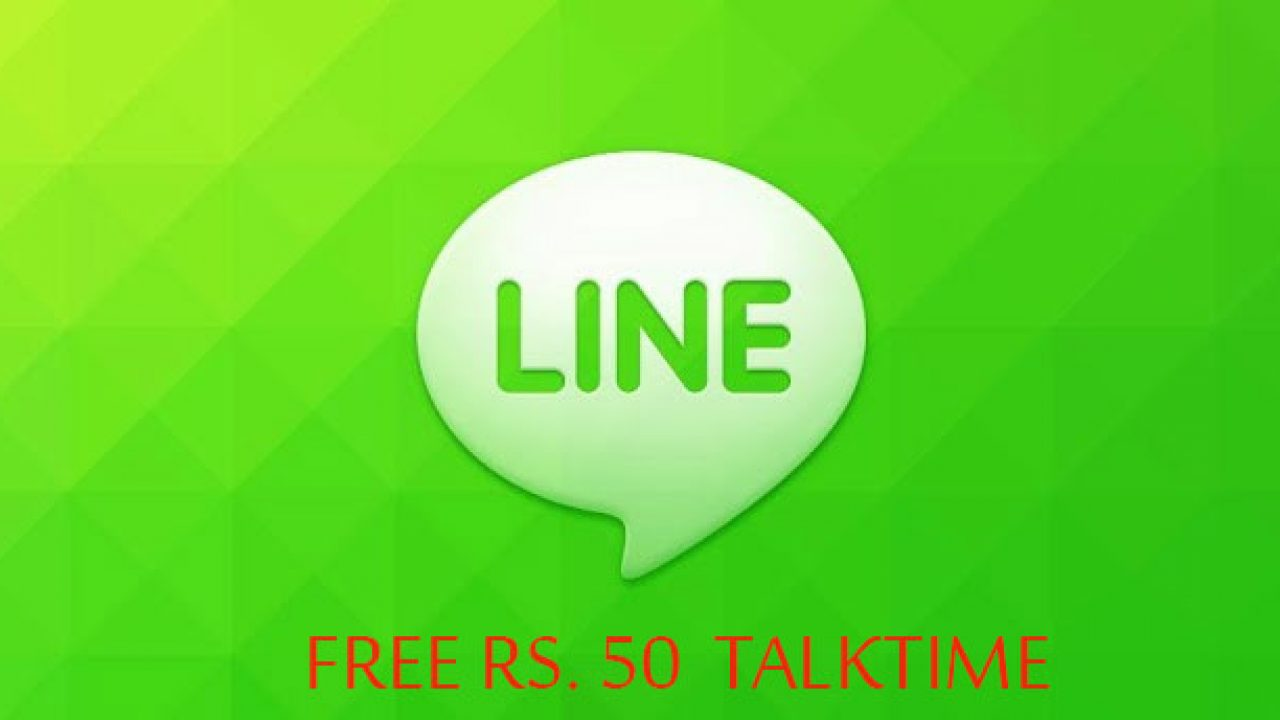 Free Talk Time Of Rs 50 To All Its India Users Line App Telecom Clue