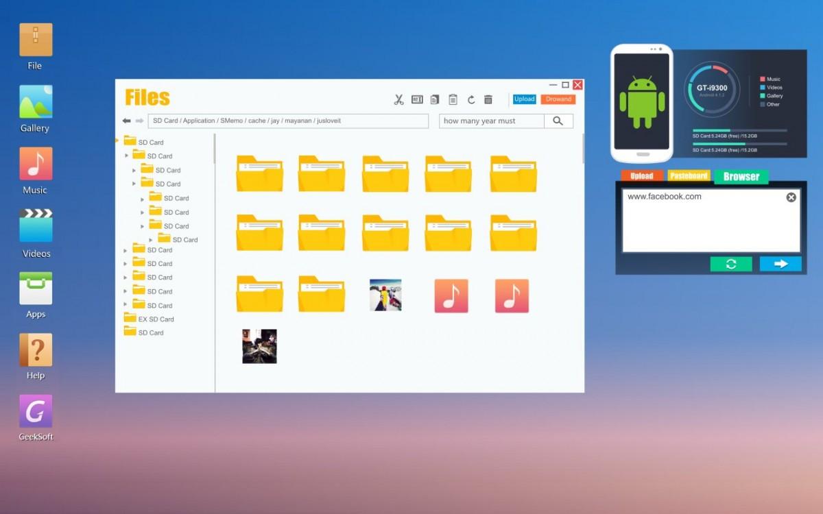 App Review: Web PC Suite – File Transfer by GeekSoft