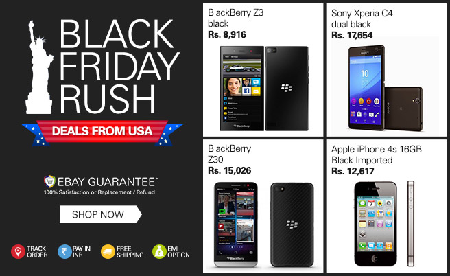 eBay brings 'Black Friday' sale to India!!!