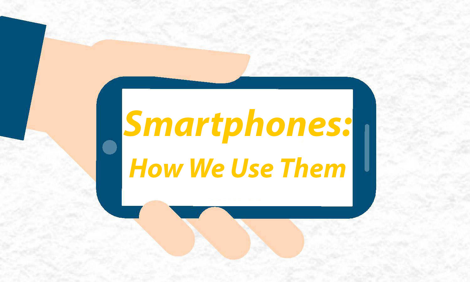 How people use cell phones – Infographic