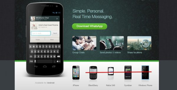 Whatsapp To end Support For Blackberry 10, Nokia Symbian S60