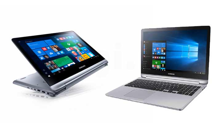 Samsung's new Hybrid Device notebook7 spin