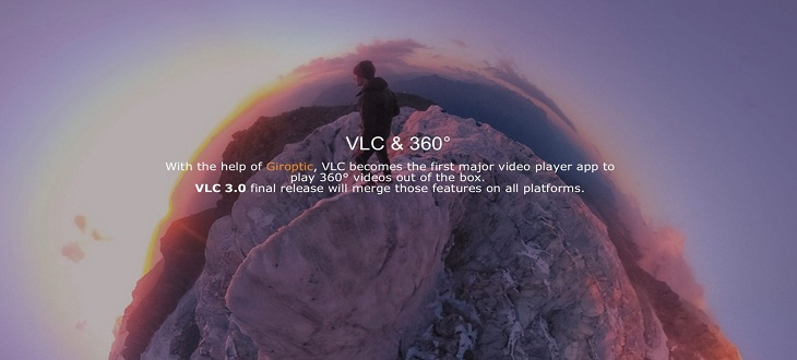 VLC media Player can now play 360-degree videos