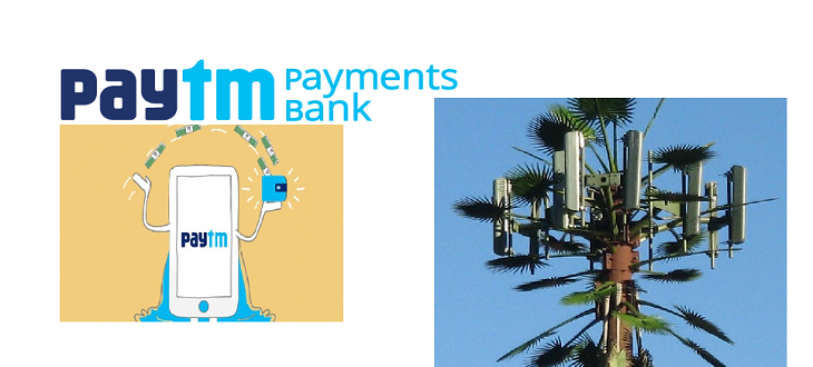 Paytm Wallet becomes Payment bank; Reliance Jio Camouflaged Towers
