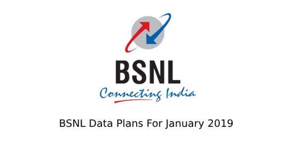 BSNL DATA PACKS JAN 2019 – Telecom Clue™